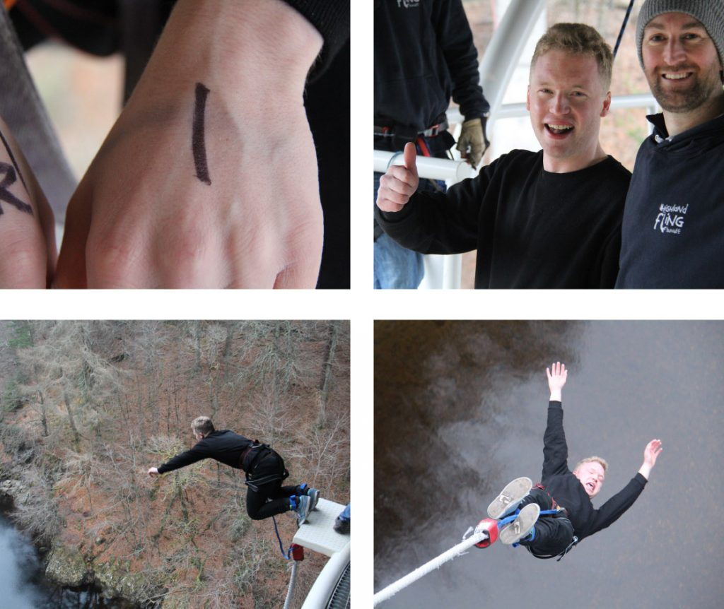 Malcolm's bungee jump