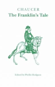 Book cover: Chaucer - The Franklin's Tale