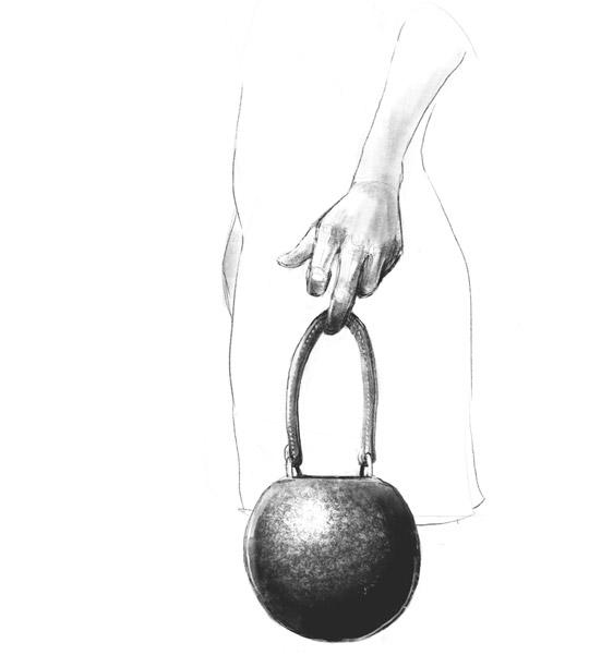 Kettle bell handbag